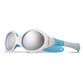 Julbo Baby Looping I Spectron 4 Sunglasses 0-18M White/Blue-Gray Flash Silver